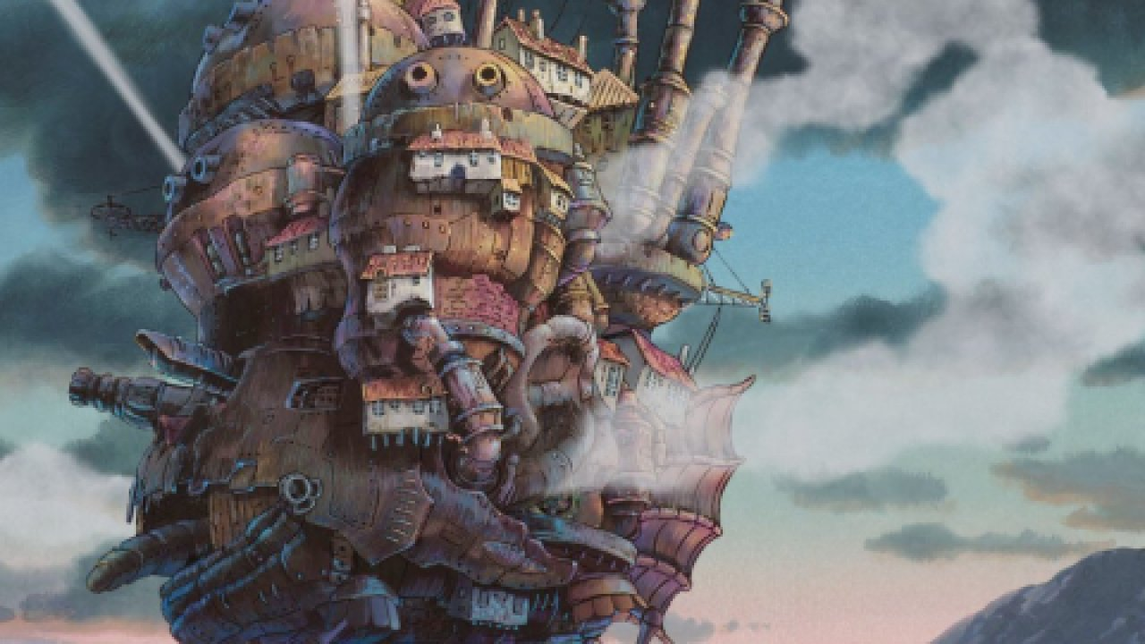 Ходячий замок - Анимационный фильм