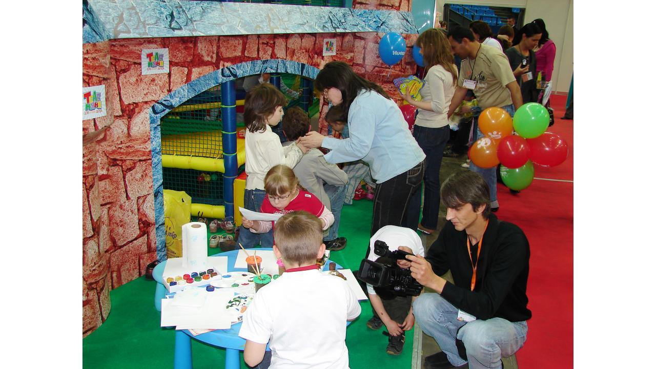 Канал «ТелеНяня» насемейном фестивале Babytime