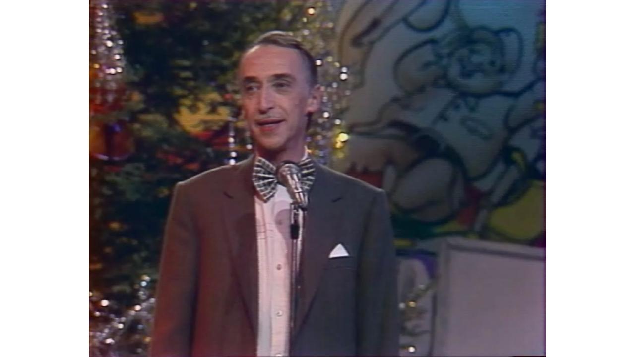 Новогоднее поздравление Александра Иванова. 1988год