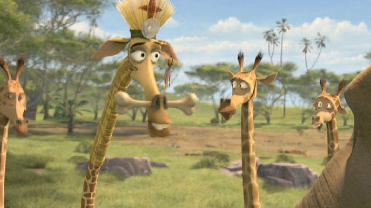 Мадагаскар: Побег вАфрику - Анимационный фильм