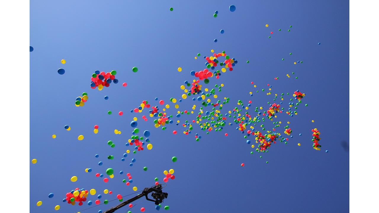 Праздник 1 июня в Парке им. Горького