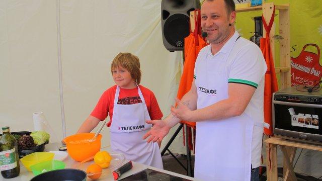 Высокая кухня канала «Телекафе» на фестивале «Легко готовить!»