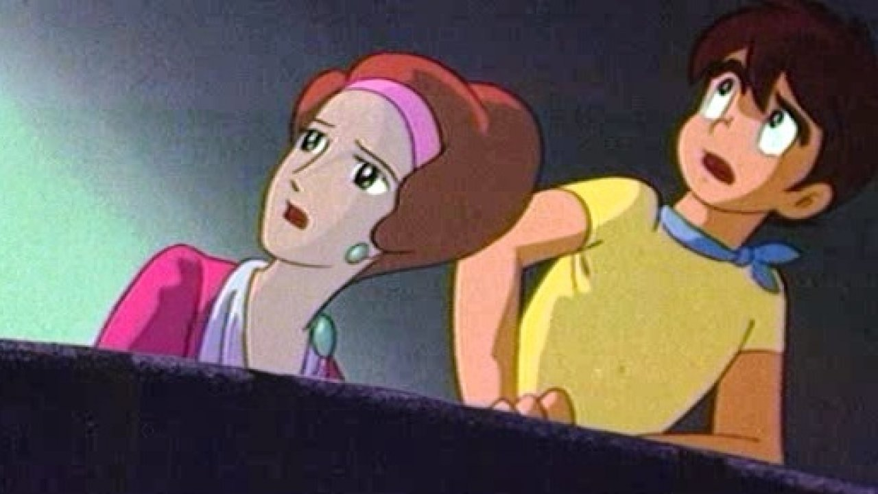 Корабль–призрак - Приключения, Анимационный фильм