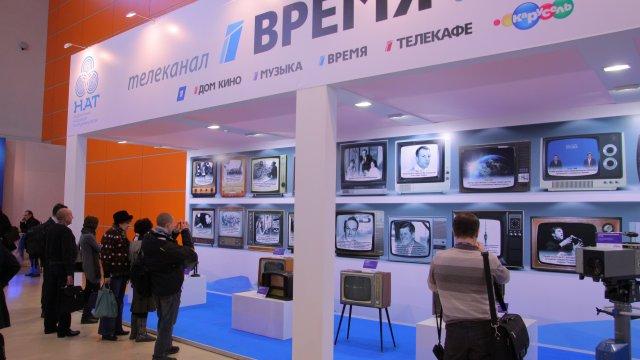 Канал «Время» провел на НАТЭСКПО урок истории российского телевидения