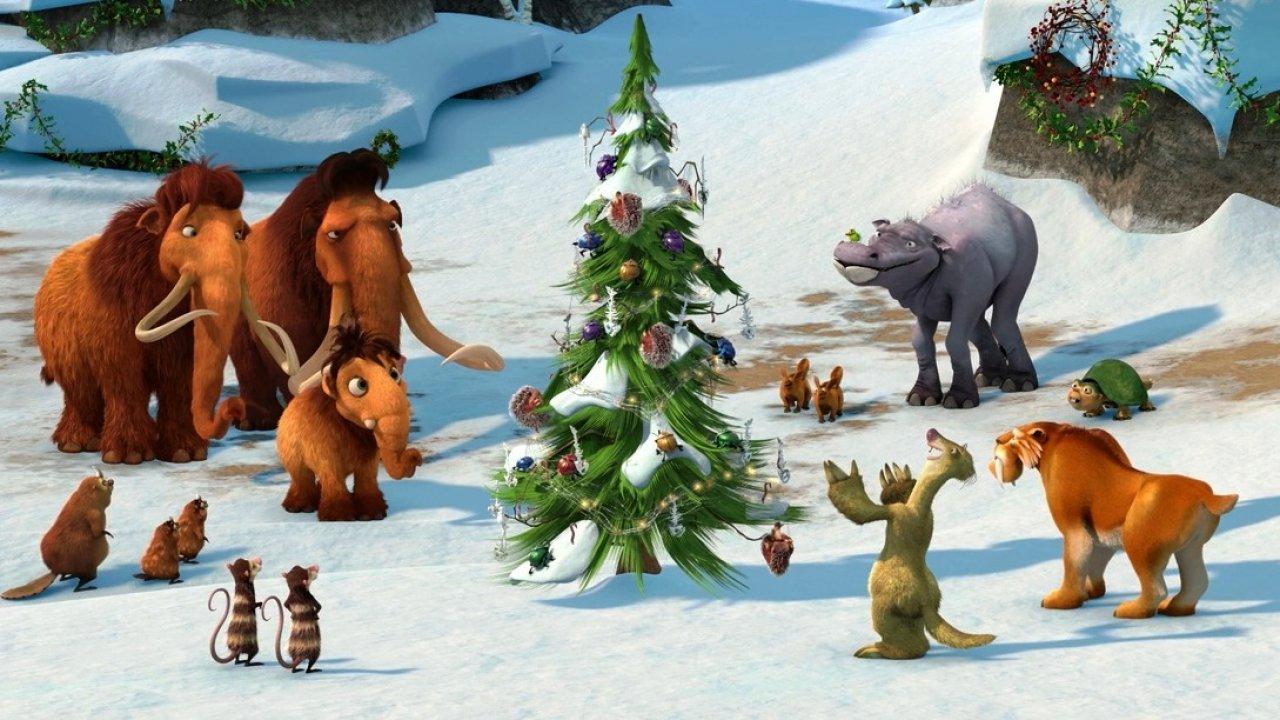 Ледниковый период: Гигантское Рождество - Приключения, Анимационный фильм