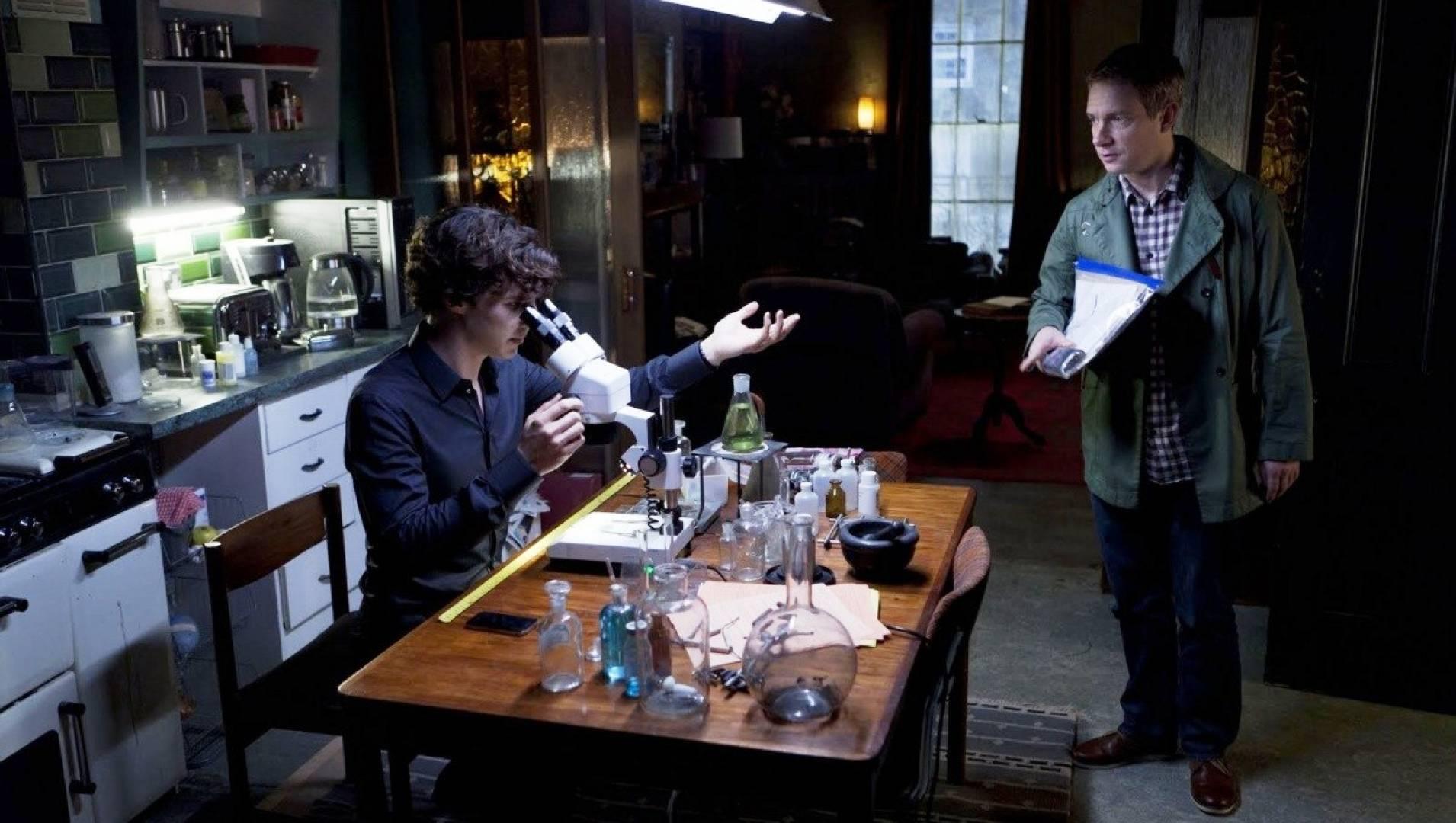 Шерлок Холмс: Рейхенбахский водопад - Детектив, Фильм