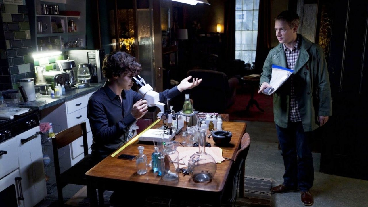 Шерлок Холмс: Скандал в Белгравии - Детектив, Фильм
