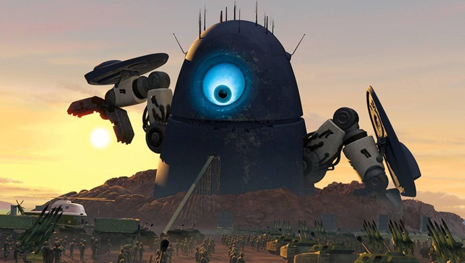 Монстры против пришельцев - Анимационный фильм
