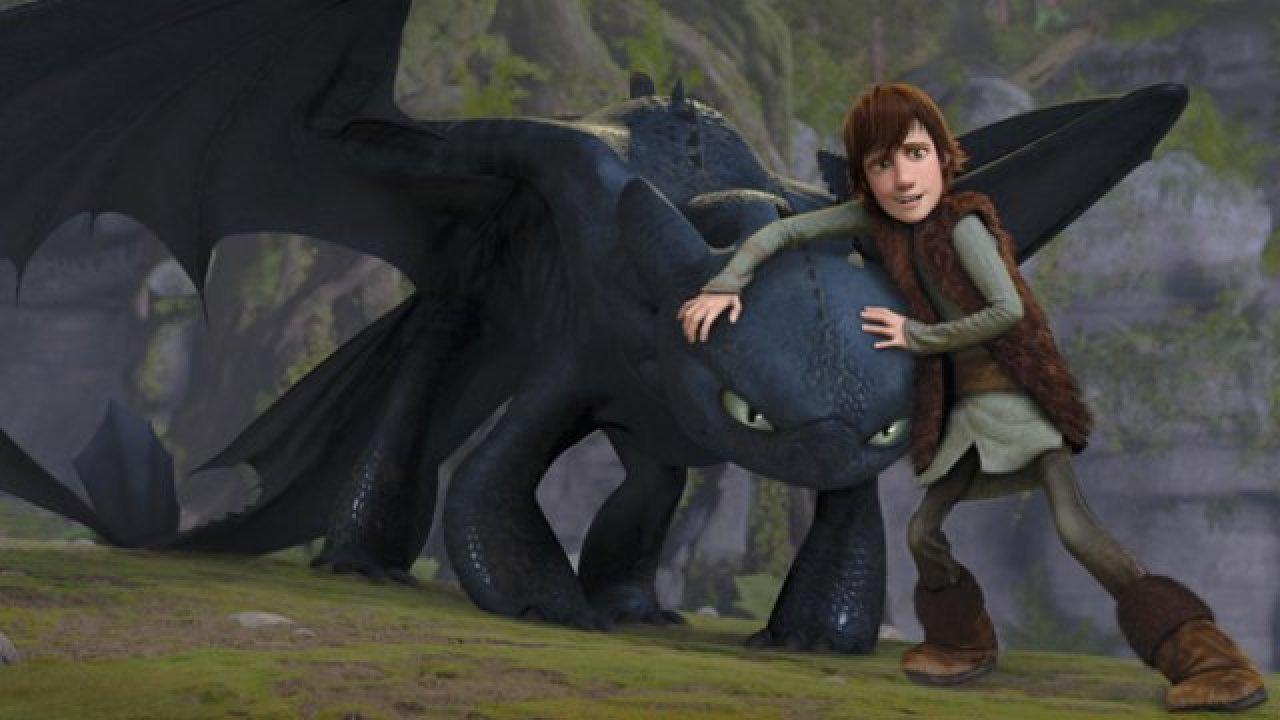 Как приручить дракона - Анимационный фильм