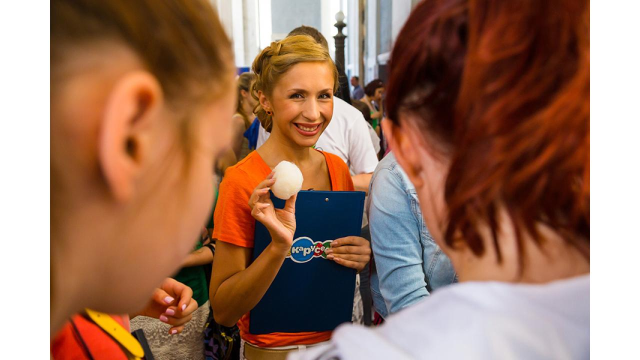 Анастасия Гребенкина. Праздник на ВВЦ. 1 июня 2013