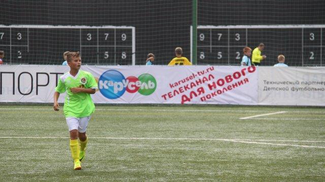 «Карусель» — за детский футбол!