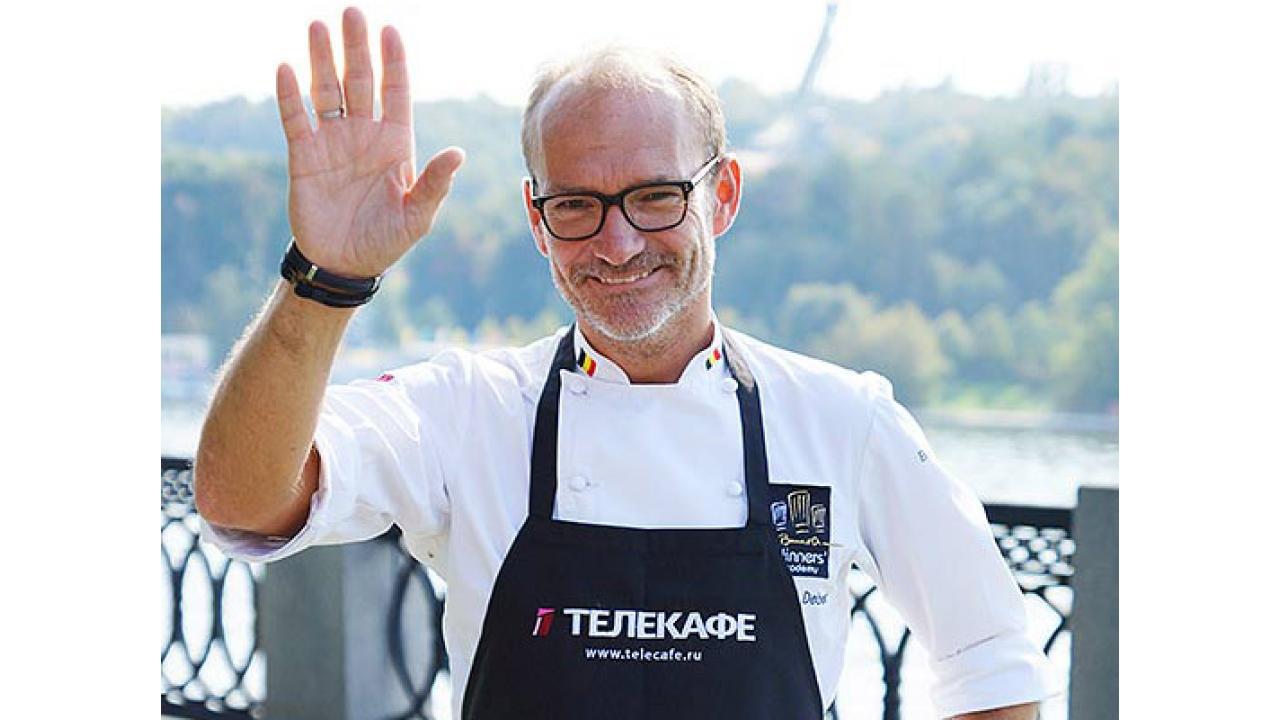 Ролан Дебюст, обладатель двух звёзд Мишлен, владелец ресторана Orangeraie