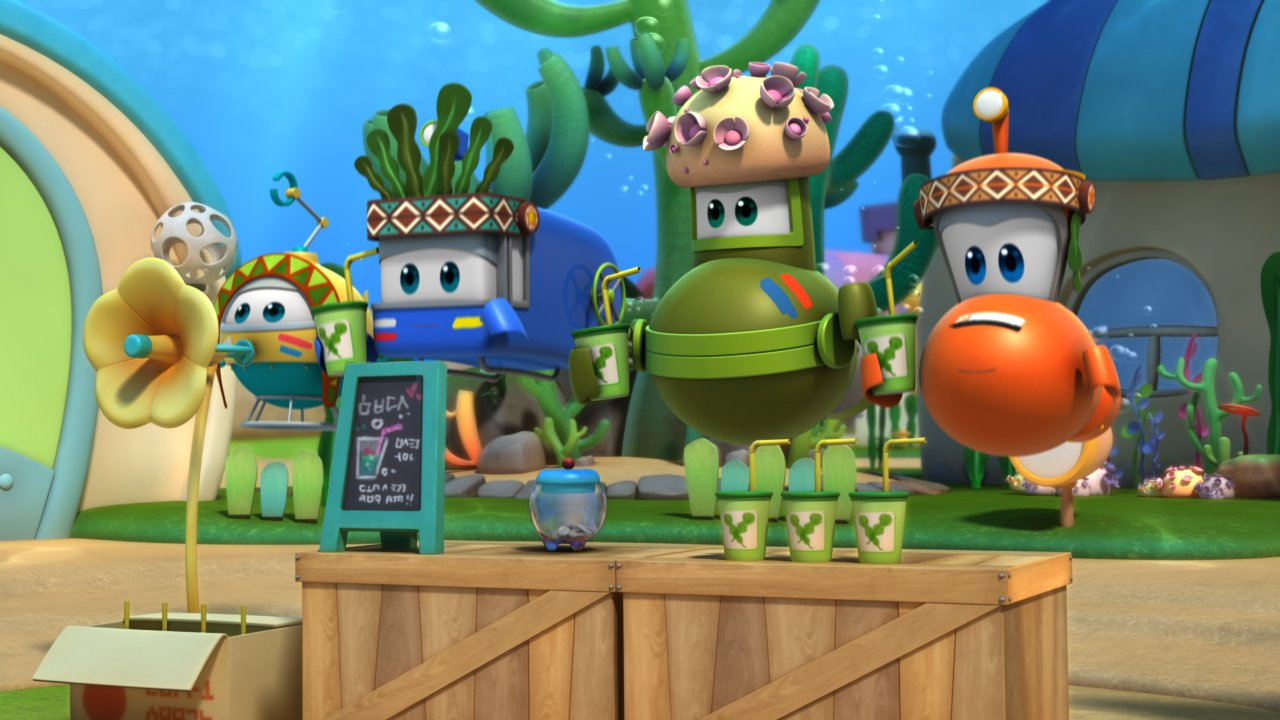 Марин и его друзья. Подводные истории - Мультсериал