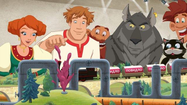 Сказочный «Премьерный марафон»: «Иван Царевич и Серый Волк – 3»  на телеканале «Дом кино Премиум»