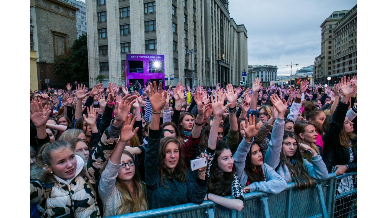 Гости концерта / Звёзды «Музыки Первого» поздравили Москву с Днём города