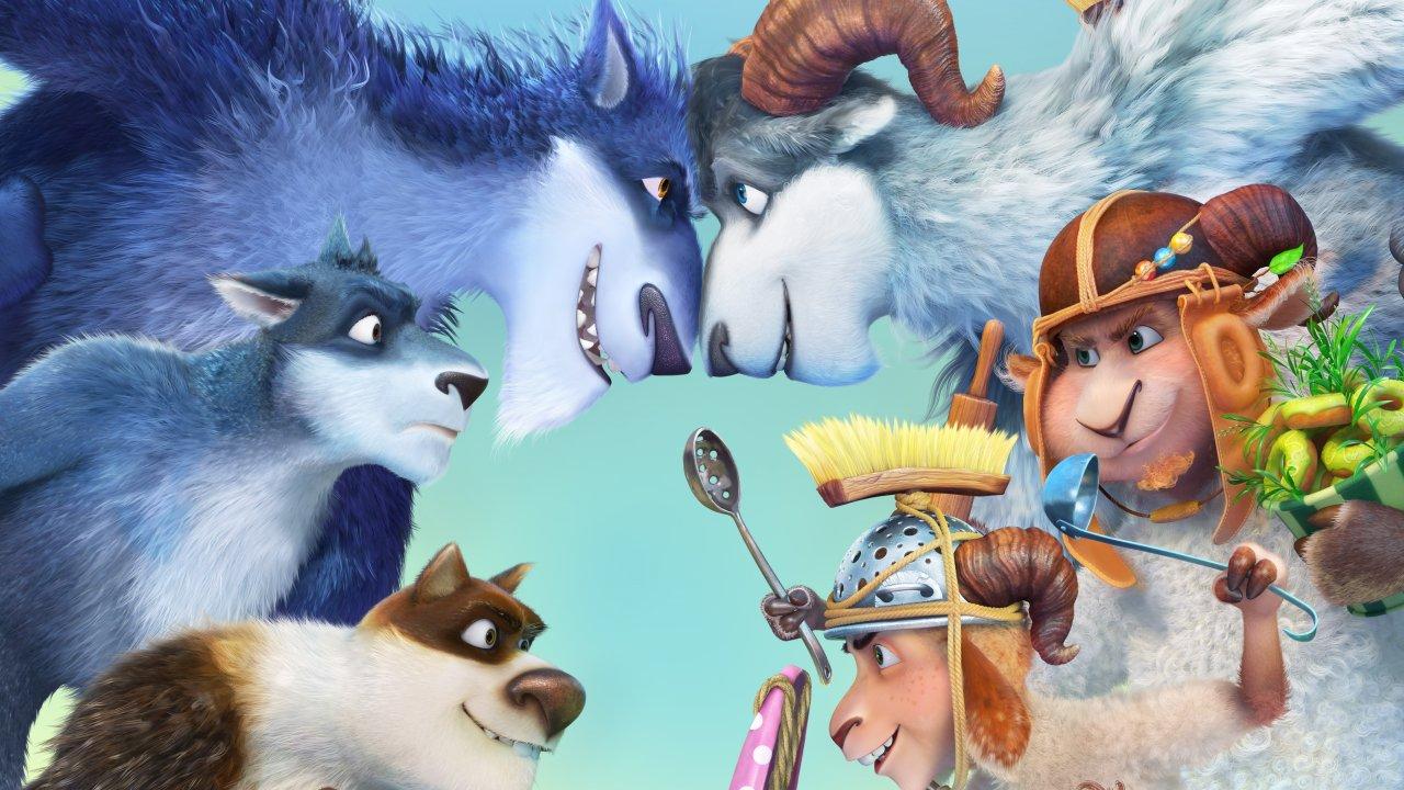 Волки и овцы: бе-е-е-зумное превращение - Анимационный фильм