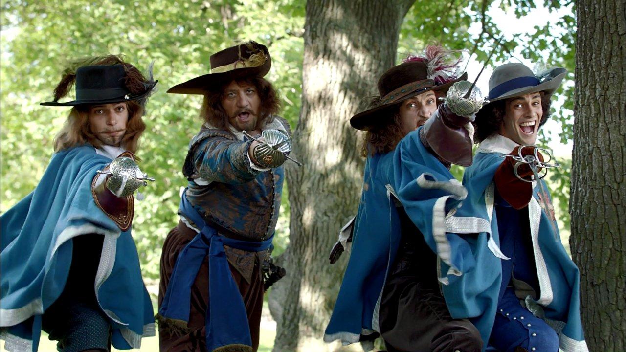 Три мушкетера - Приключения, Фильм
