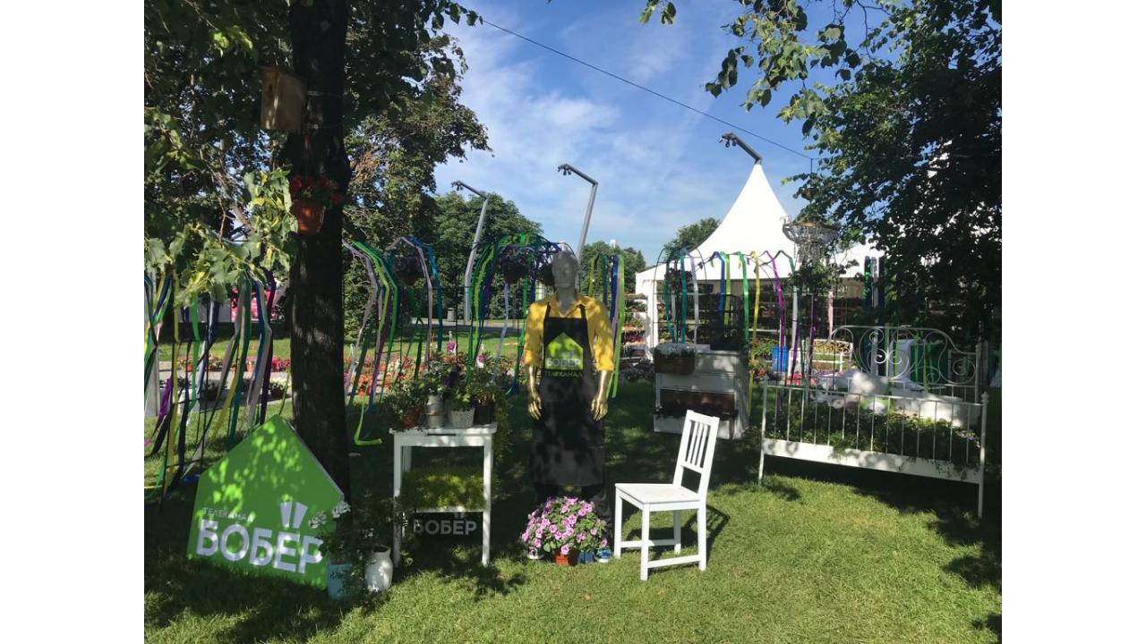 Телеканалы «Бобёр» и «О!» приглашают на Moscow Flower Show 2017