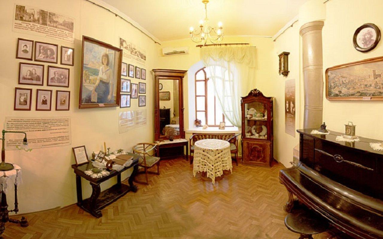 Экспозиция музея Марины и Анастасии Цветаевых в Феодосии / Фото: tsvetayevs.org