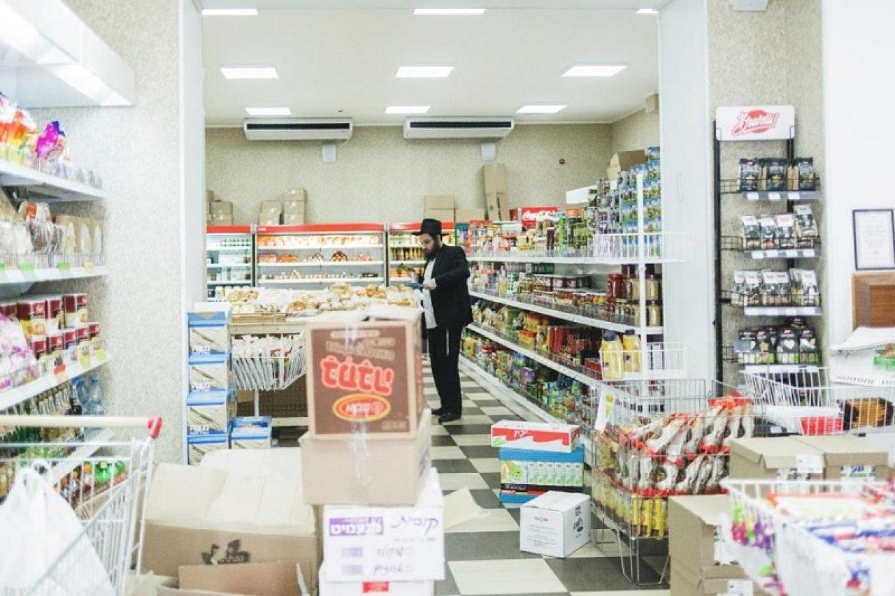 Кошерный магазин продуктов на улице Образцова, 19. Фото: Александра Карелина