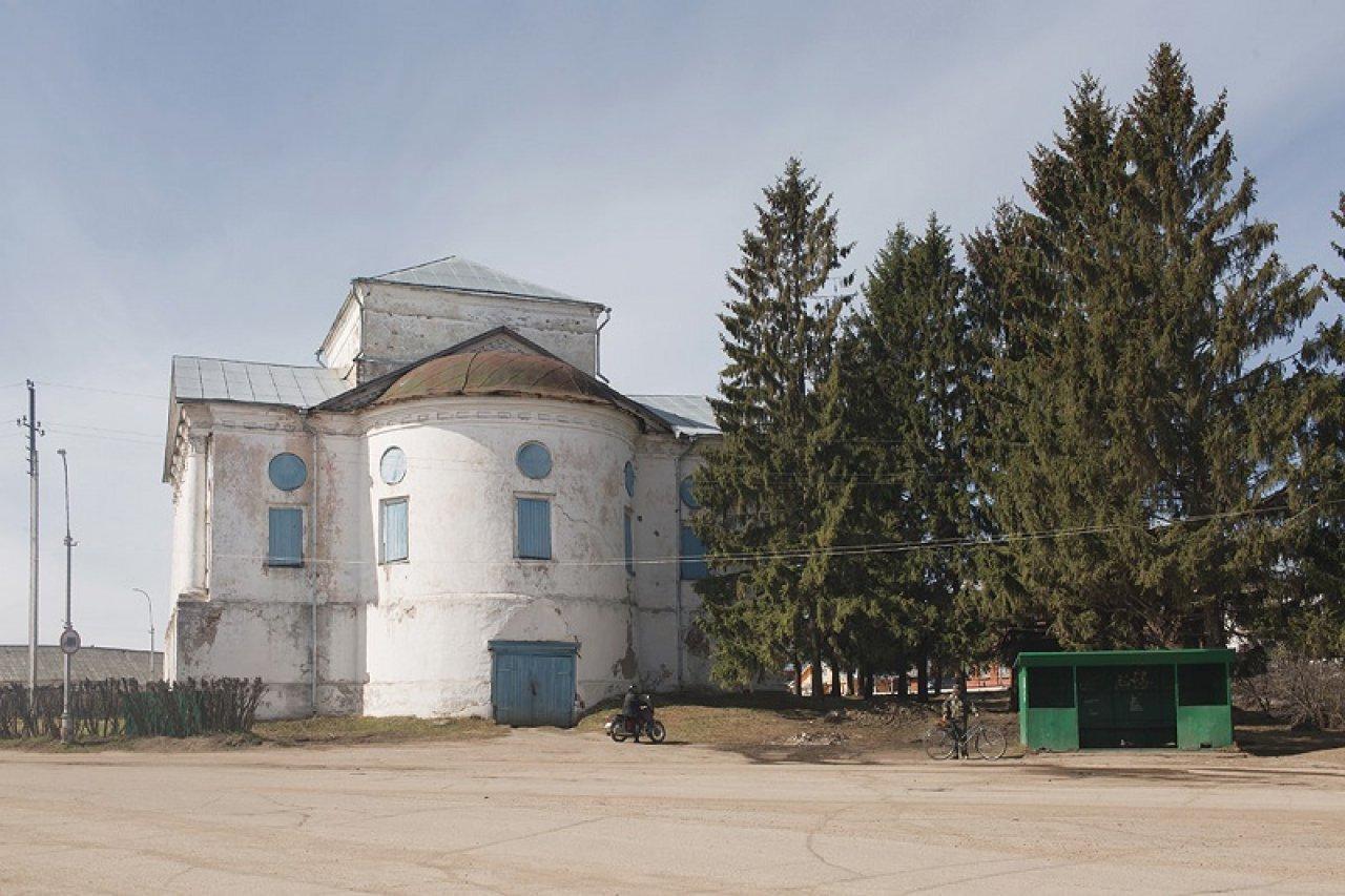 Крестовоздвиженская (Борисоглебская) церковь наКрасной площади (1809—1816 г.). Фото: Александра Карелина
