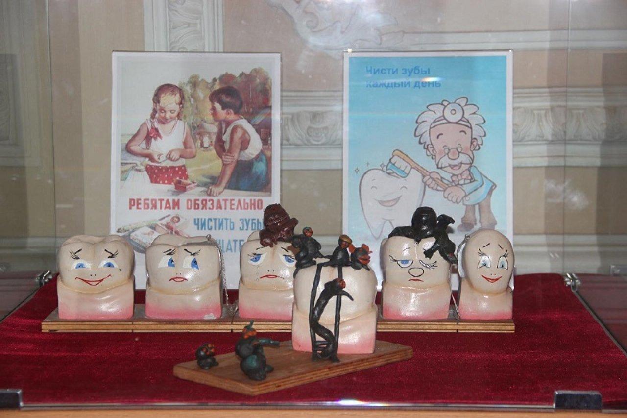 Экспозиция музея гигиены в Санкт-Петербурге. Фото: gcmp.ru