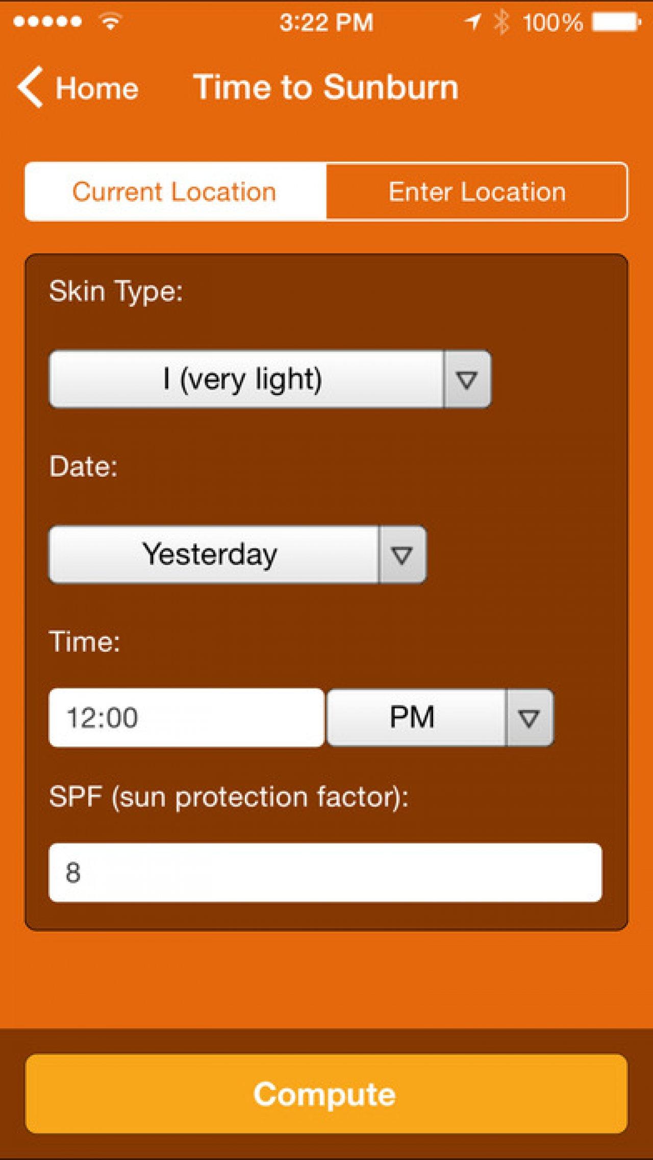 Не обгореть на солнце поможет приложение Wolfram
