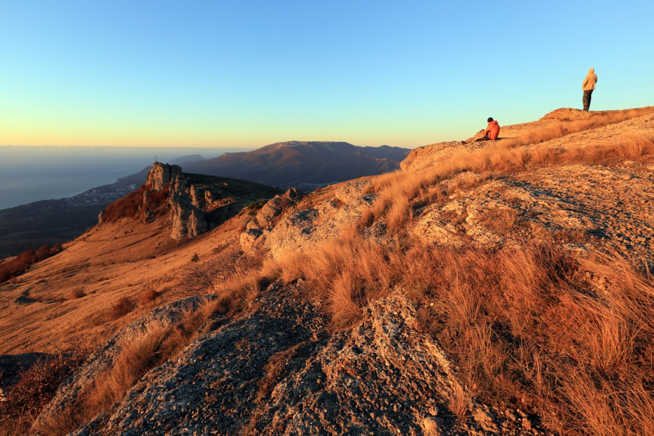 Гора Демерджи осенью, Крым. Фото: Venera Salman / Shutterstock