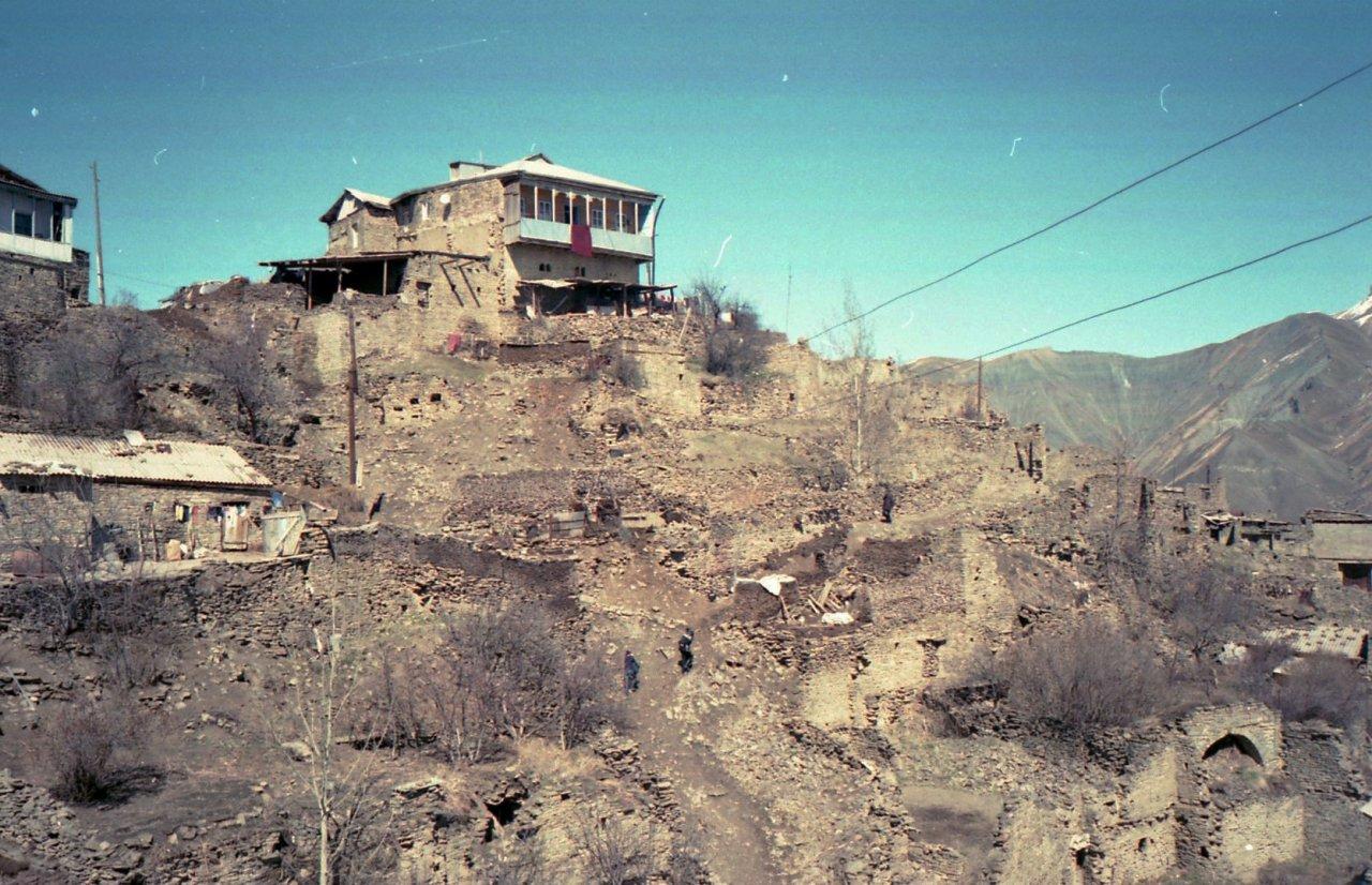 Вид на старую часть села Вачи