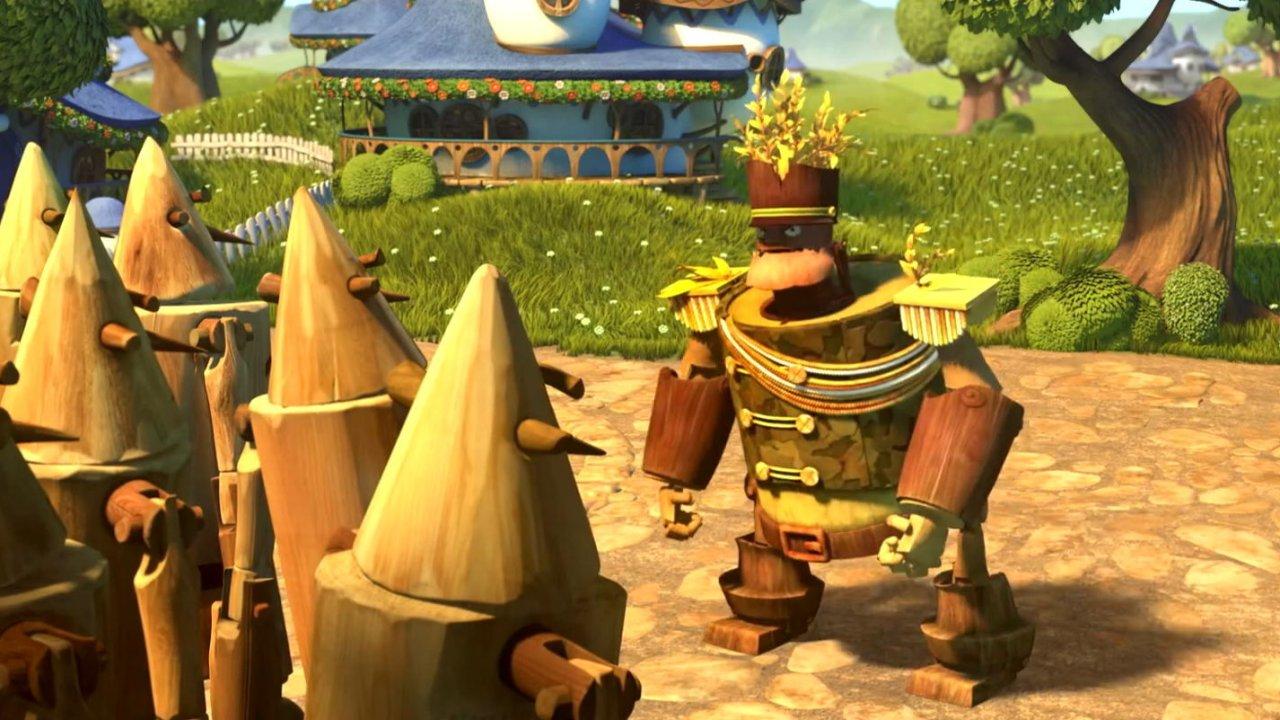 Урфин Джюс и его деревянные солдаты - Анимационный фильм