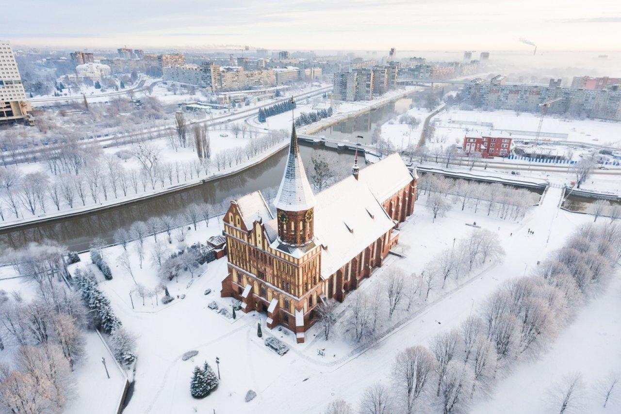 Кафедральный собор в Калининграде. Фото: Konstantin Tronin / Shutterstock