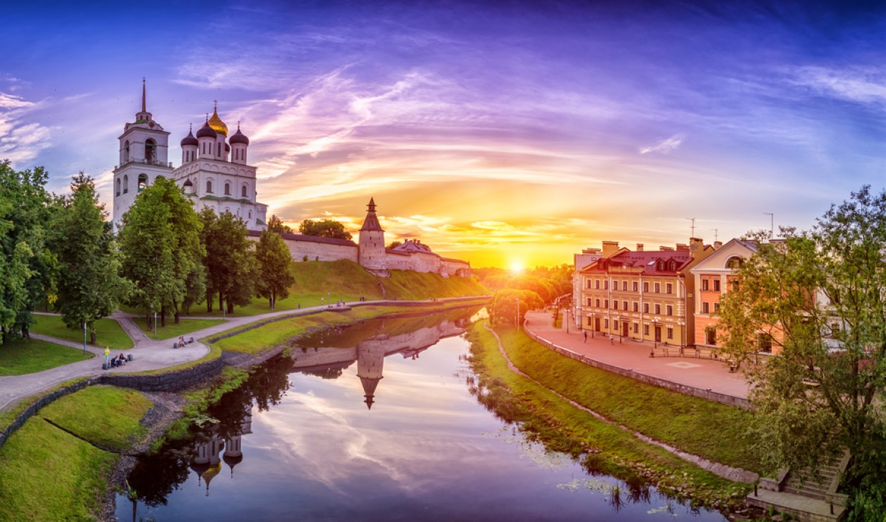 Псковский кремль. Фото: Tanya Sid / Shutterstock