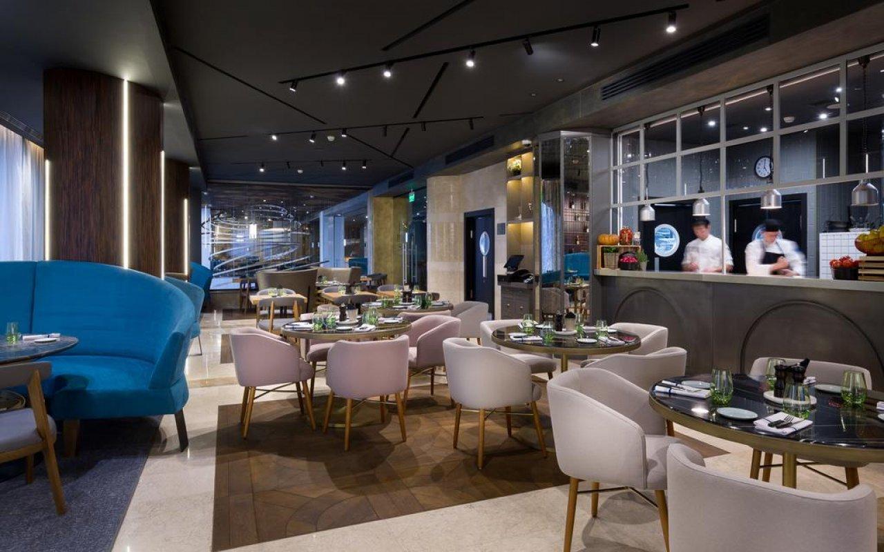 Ресторан в Radisson Blu в Ростове-на-Дону