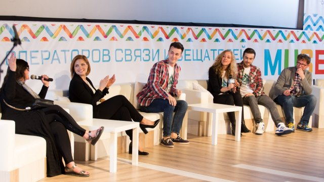 Первый канал удивил гостей  Ежегодного форума «Мультисервис»
