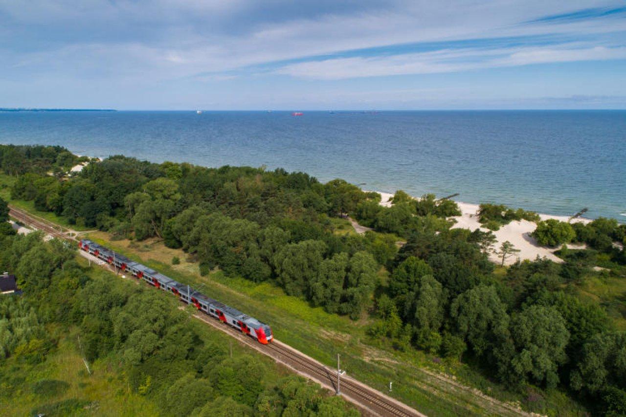 «Ласточка» соединяет Зеленоградск и Калининград