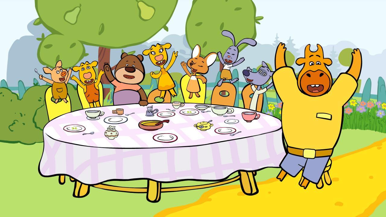 «Оранжевая корова» — новый познавательный мультсериал на телеканале «О!»