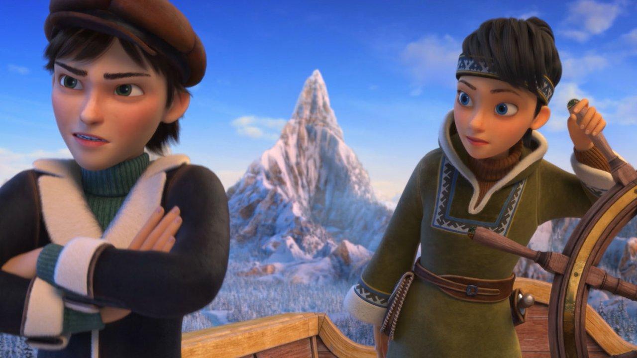 Снежная королева — 3. Огонь и лёд - Анимационный фильм