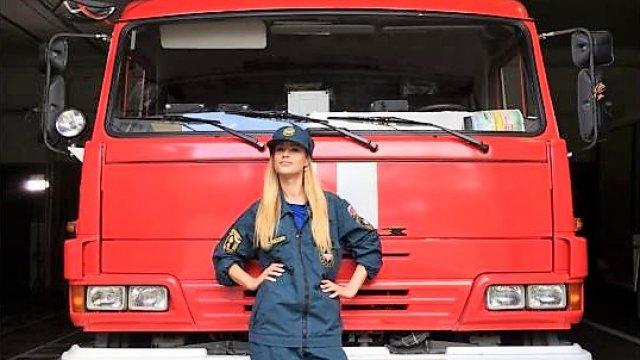 «Стажёрка» отправляется на службу в МЧС в Калининград