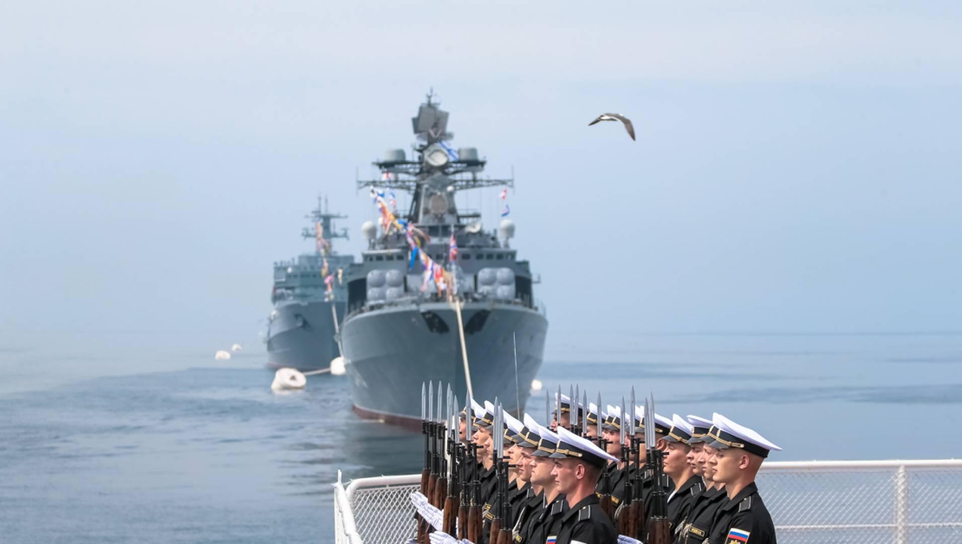 День Военно-Морского Флота России. Праздничный канал - Программа