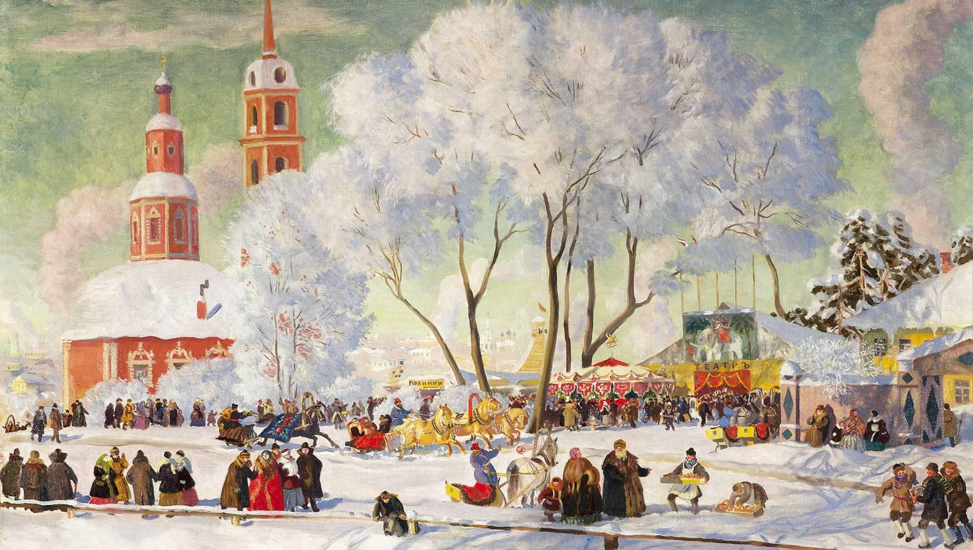Рождество в России. Традиции праздника - Документальный фильм