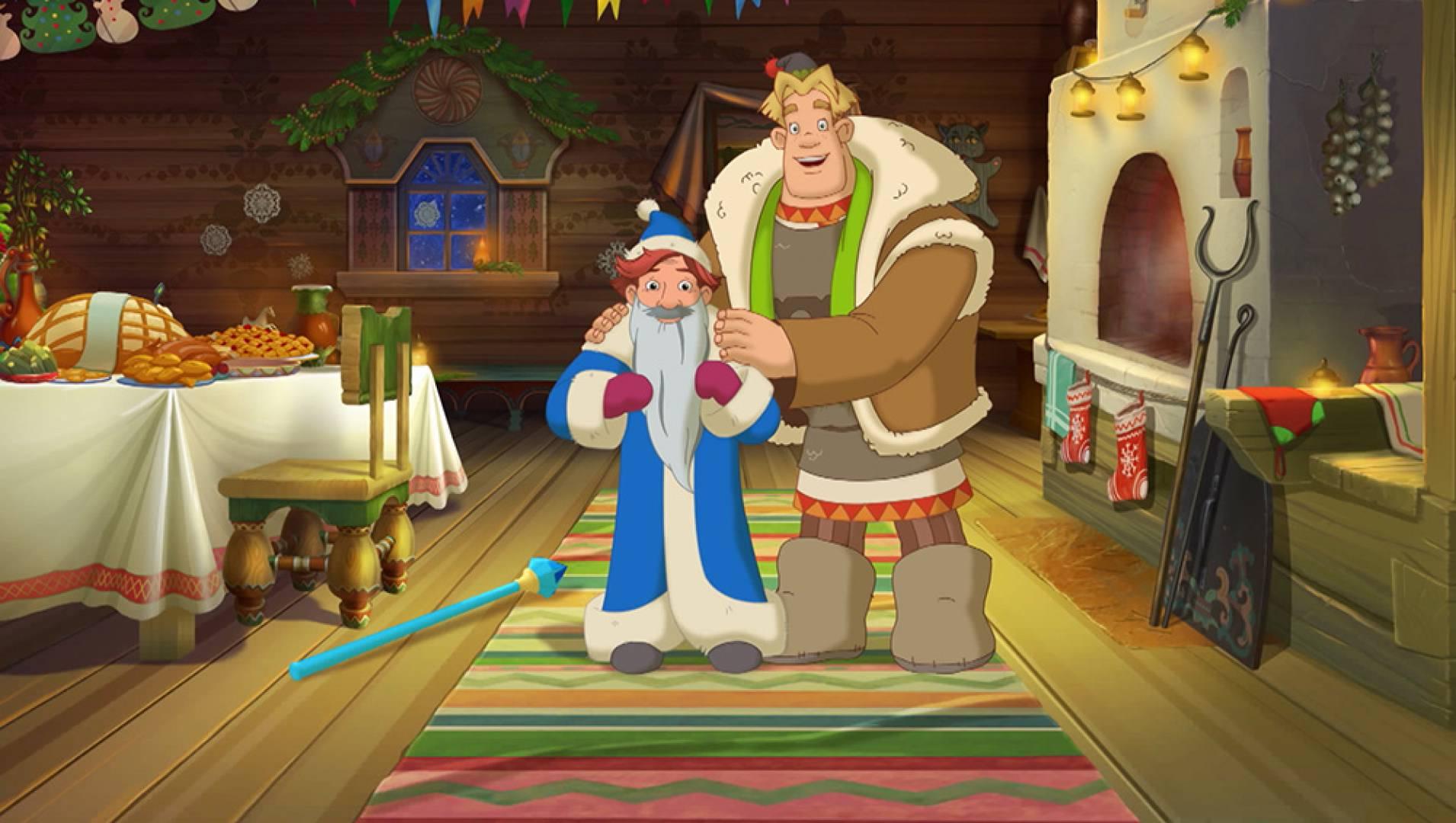 Три богатыря и принцесса Египта - Анимационный фильм