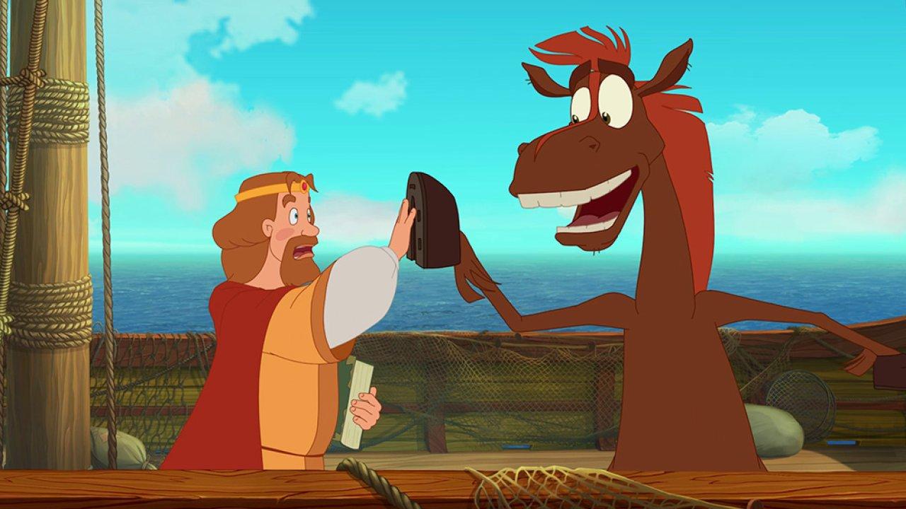 Три богатыря и Морской Царь - Анимационный фильм