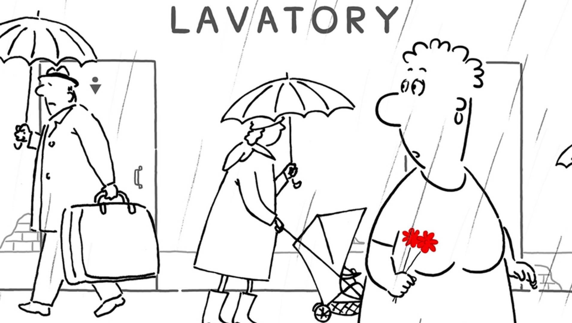 Любовная история (Lavatory Lovestory) - Анимационный фильм