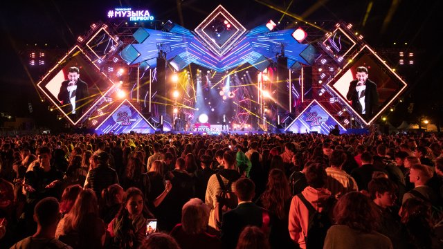 #ВЫПУСК2020: 15000 человек праздновали вместе со звёздами «Музыки Первого»