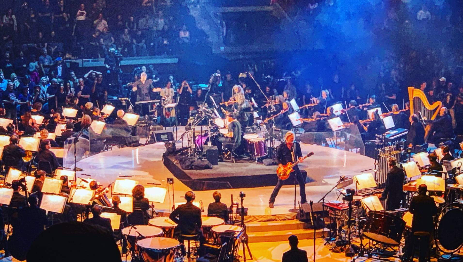 Концерт группы Metallica с симфонический оркестром Сан-Франциско - Концерт