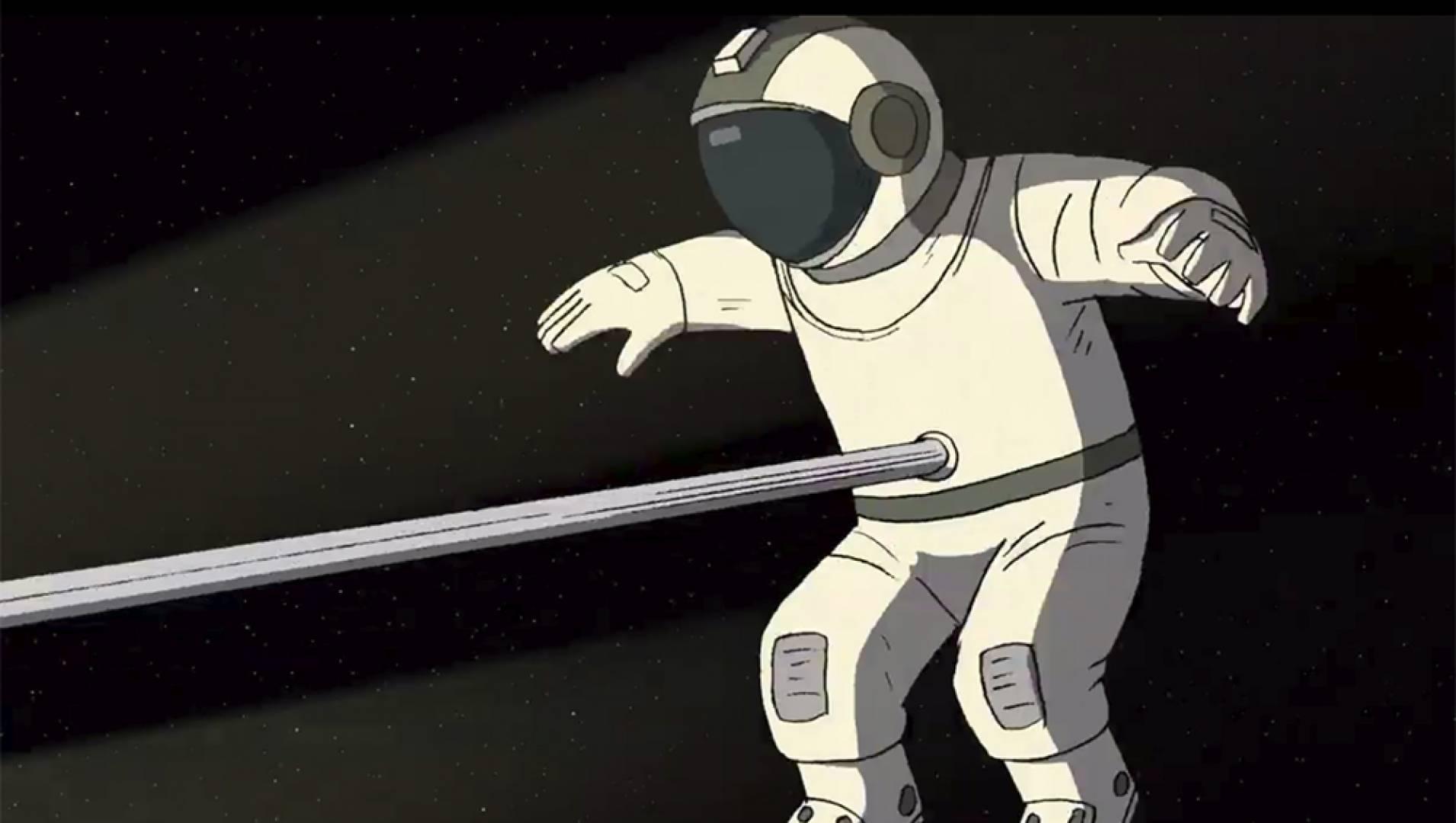 Он не может жить без космоса - Анимационный фильм