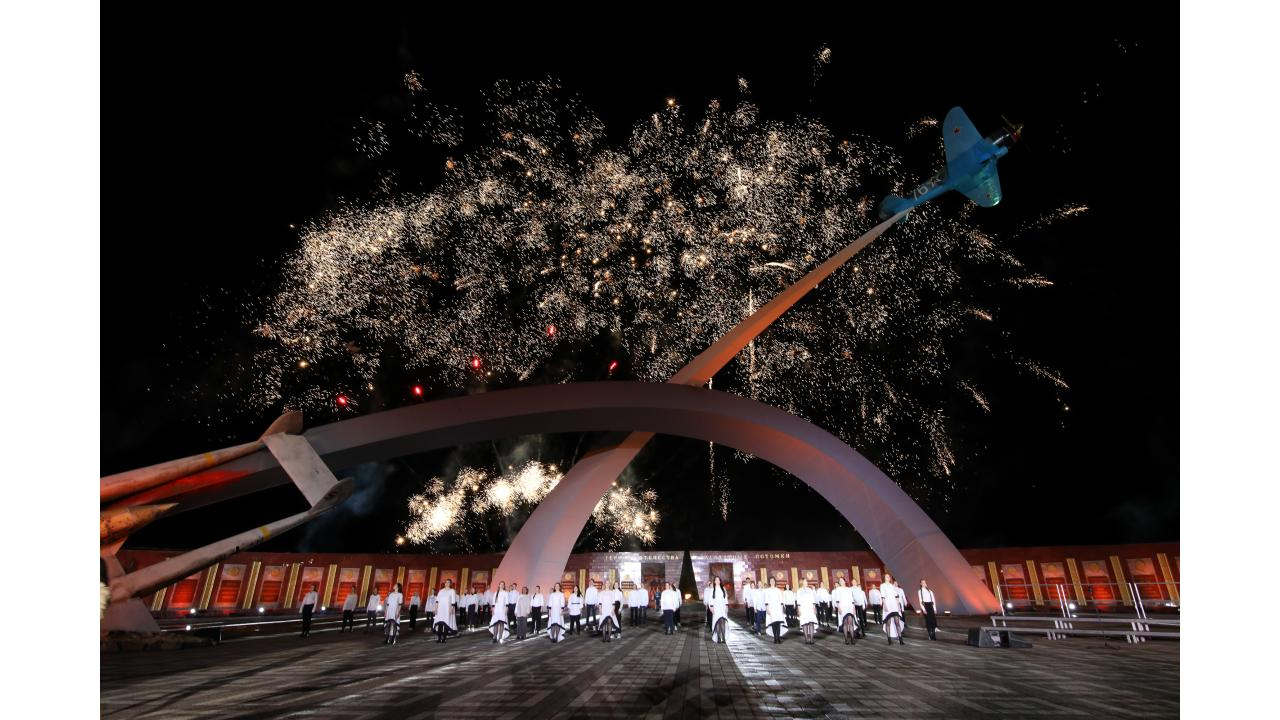 9 мая прошла торжественная церемония закрытия фестиваля «Спасибо за Победу!» в Туле