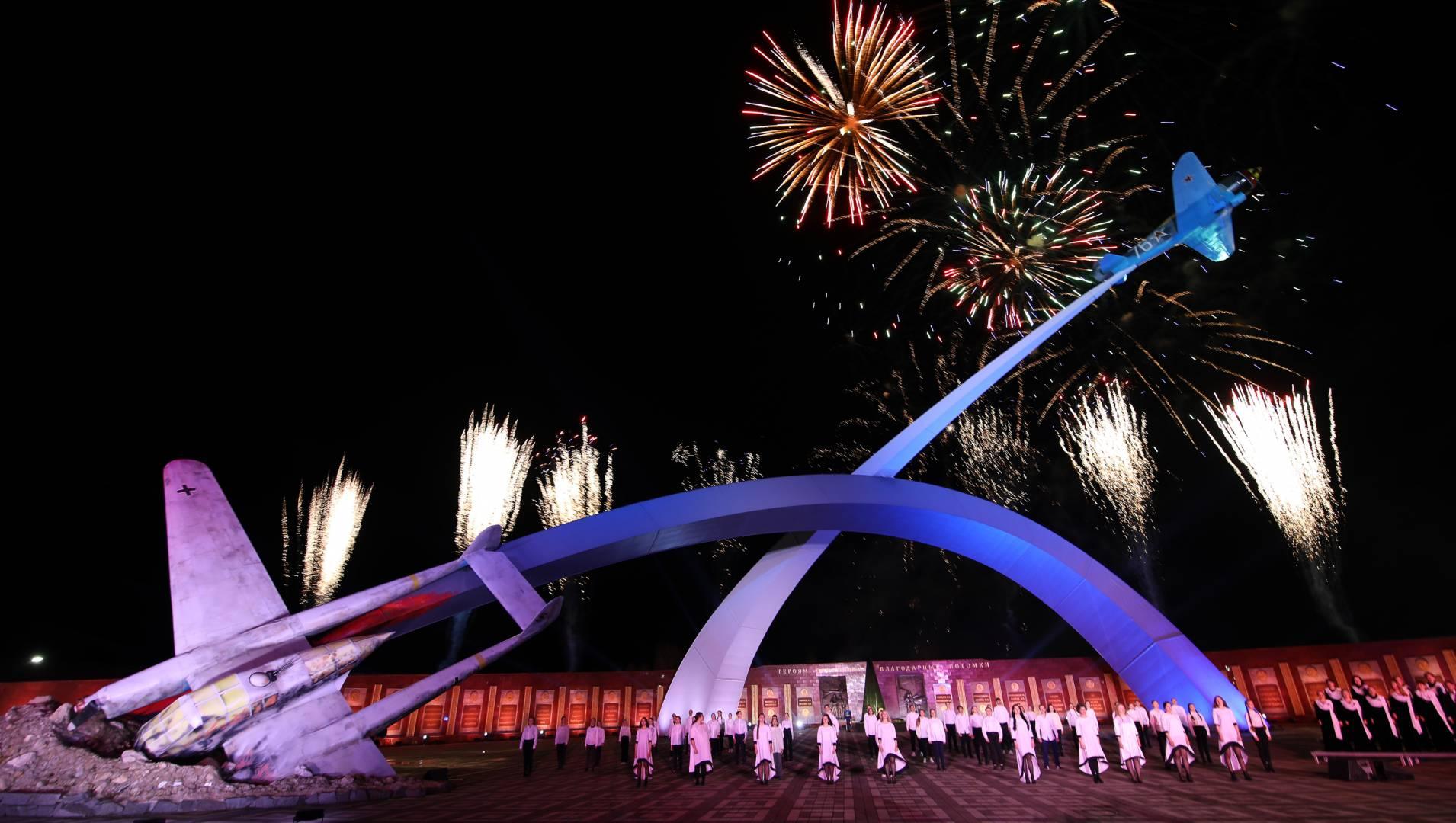 ВИДЕО: 9 мая прошла торжественная церемония закрытия фестиваля «Спасибо за Победу!» в Туле