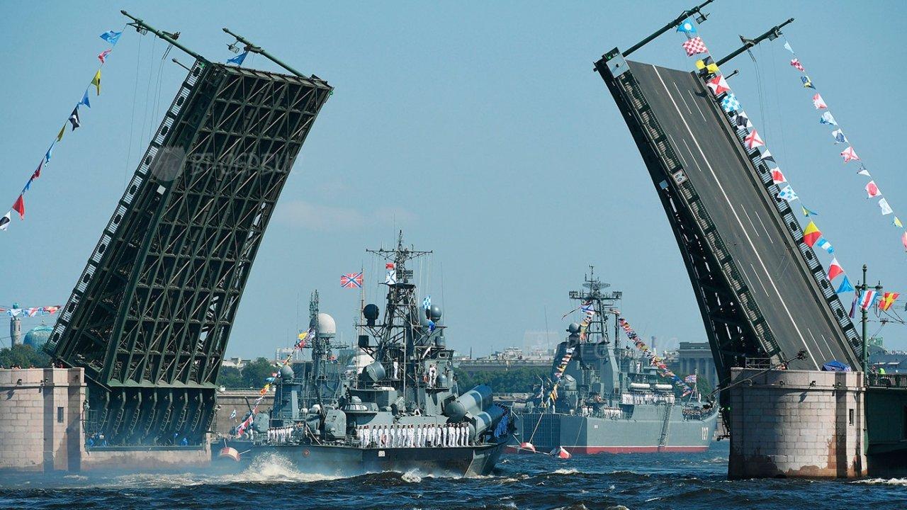 Торжественный Парад ко Дню Военно-морского Флота - Программа